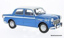 Fiat 1100 lusso azul/blanco 1960 1:18 bos