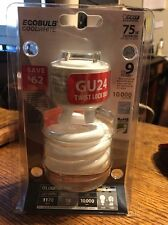 1~ Feit Electric. BPESL18TM/GU24 18-watt Twist Soft White GU24 Base. 2700K. NIP
