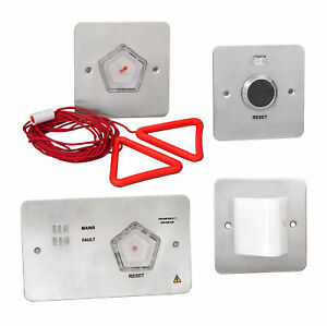 Stainless Steel Toilet Alarm Call for Assistance Alert System 4 Kit Emergency