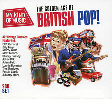 MY KIND OF MUSIC THE GOLDEN AGE OF BRITISH POP - 2 CD BOX SET, BILLY FURY & MORE