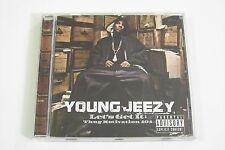 YOUNG JEEZY - LET´S GET IT: THUG MOTIVATION 101 CD 2005 (Lloyd Banks Bun B Akon)