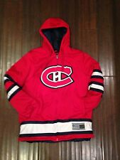 Montreal Canadiens NEW Men's Large Cross Check Jacket by GIII . WARM NHL Hockey