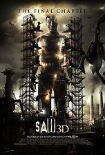 SAW 3D - Movie Poster - Flyer - 13.5x20 - FINAL - TOBIN BELL
