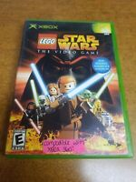LEGO Star Wars: The Video Game (Microsoft Xbox, 2005)(Complete)(Tested)