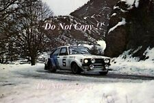 Hannu Mikkola Ford Escort RS1800 Monte Carlo Rally 1979 Photograph 1