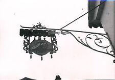 NIEDERMORSCHWIHR c. 1935 - Enseigne Auberge Au Canon Alsace - P 282