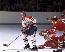 Henri Richard Montreal Canadiens Game Auction 8x10 Photo