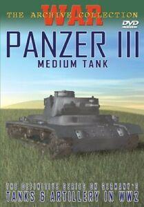 Panzer III: Medium Tank [New DVD] Black & White
