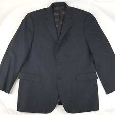 BROOKS BROTHERS 346 Stretch Mens Dark Gray 2-Button Suit Jacket Size 42 S