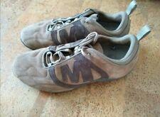 Merrell Herren Sneakers Gr. 44, Wildleder braun getragen