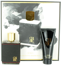 CH by Carolina Herrera for Men Set - EDT Spray 3.4oz + Aftershave Balm 3.4oz NIB