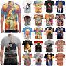 Women Men Funny Donald Trump Humor Short Sleeve Tops Tee Casual 3D Print Tshirt