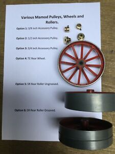 Various Pulleys, Wheels and Rollers: Mamod Model Steam