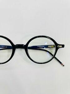 THOM BROWNE eyewear Model TB-407 colour A-BLACK (NEW) Made in Japan