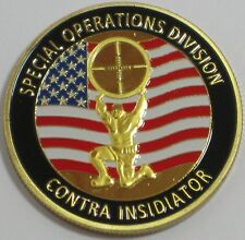 U. S. SECRET SERVICE COUNTER SNIPER TEAM SPECIAL OPERATIONS DIVISION COIN