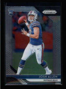 JOSH ALLEN 2018 PANINI PRIZM #205 BUFFALO BILLS BASE ROOKIE RC FC8874