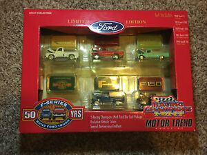 Racing Champions Mint Ford F150 50 Year Anniversary Boxed Set