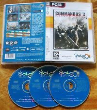 Commandos 3 Destination Berlin (PC CD-ROM Tactics Strategy Game New (Not Sealed)