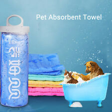 Pet Dog Cat Fashion Supplies Bathr Absorbent Shower Bath Cup Towel Blanket Tool