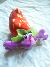 Candy Crush Saga - Strawberry Crab Plush Soft Doll Toy BRAND NEW wTag Game App