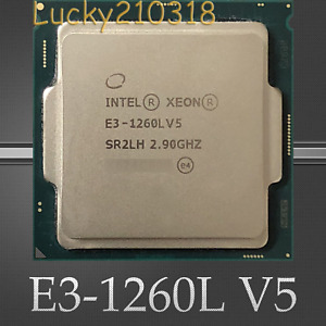 Intel Xeon E3-1260L V5 2.90GHz 4-Core SR2LH LGA-1151 C232 Server CPU Processor