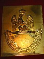 Plaque avec aigle Napoléon *