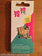 LONDON 2012 OLYMPICS TORCH RELAY (MIDDLESBROUGH) PIN BADGE (17.06.2012)