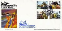 1981 FISHING BENHAM BOCS (2) 5 CARRIED FIRST DAY COVER ABERDEEN SHS