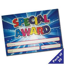 GSA - Teacher's A5 Glittery 'Special Award' Reward Certificates - Pack of 20