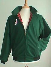 CLASSIC VINTAGE GREEN HARRINGTON JACKET RETRO XS-XXL