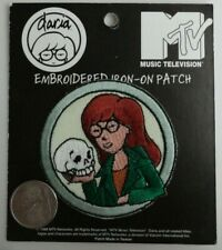 Daria Morgendorffer MTV Cartoon Embroidered Iron On Patch Applique 1998 Rare