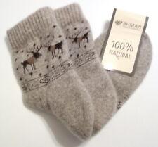 NWT 100% Natural Wool Soft Thermal Socks,Unisex, Sleepwear, Perfect Gift, 7-9