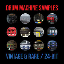 Vintage Rare Drum Machine Samples / 6 GB of Superior Quality 24-Bit WAV Samples
