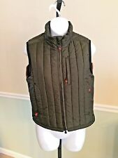 Ralph Lauren Army Green Polyester Puffy Vest - Small