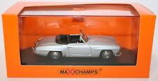 Voitures, camions et fourgons miniatures argenté en plastique pour Mercedes