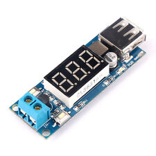 DC 12V to DC 5V Volt Step-down Module USB Charger Voltmeter Converter Hot