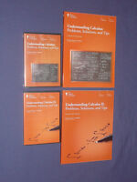 Teaching Co Great Courses DVDs :     UNDERSTANDING CALCULUS  I & II  combo   NEW
