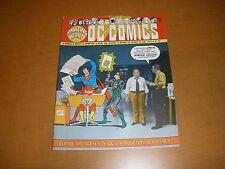 AMAZING WORLD OF DC COMICS #10 fanzine, 1976, 48 pages SHOWCASE
