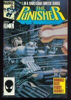 THE PUNISHER #  1 - 5 COMPLETE LIMITED MINI SERIES MARVEL  COMICS INV: L-65