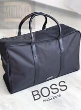 🆕💙💝💙Hugo Boss Mens Weekend Holdall Sports Gym Travel Bag Black NEW SEALED💙!
