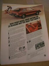 Original 1979 Datsun 310 Magazine Ad - ...You Must Test Drive It