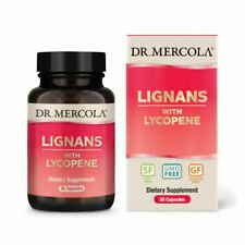 Lignans with Lycopene (30 capsules) - Dr. Mercola