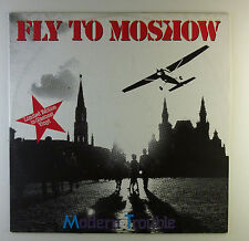 """12"""" Maxi - Modern Trouble - Fly To Moscow - L4844 - Clear Vinyl"""