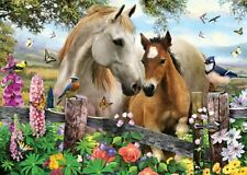 Jigsaw puzzle Animal Horse Proud Parent in 3D 500 piece NIB
