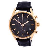 Calvin Klein K4M276C3 Men's Formality Leather Strap Chrono Watch
