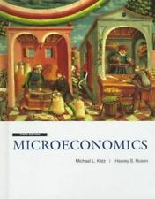 Microeconomics, Michael Katz, Harvey Rosen, Very Good Book