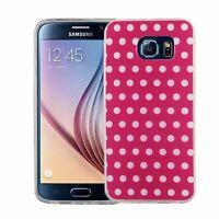 Samsung Galaxy S6 Hülle Case Handy Cover Schutz Schtuzhülle Panzerfolie 9H Pink