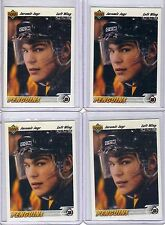 Jaromir Jagr 1991 - 92  Upper Deck  #256  ( 4 card Lot  )  PENGUINS  Hockey