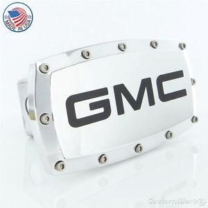 GMC Chrome Billet W/ Allen Bolts Tow Hitch Cover