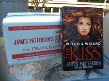 James Patterson Witch & Wizard The Kiss - box lot of 10 books New! condition